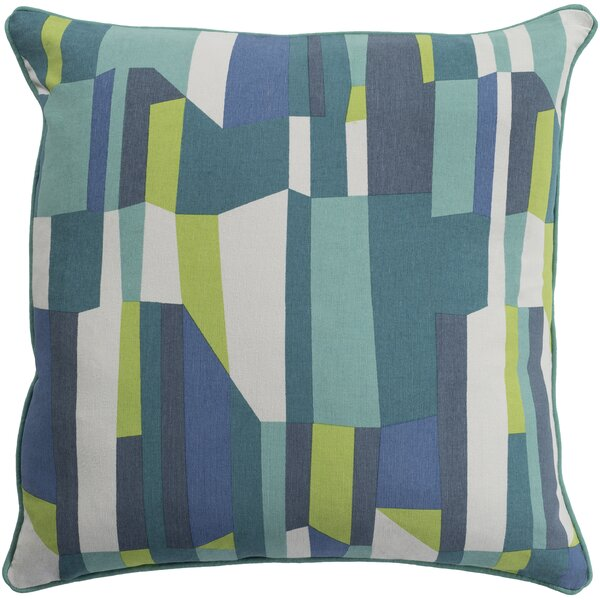 Villa 100% Cotton Throw Pillow by Zipcode Design
